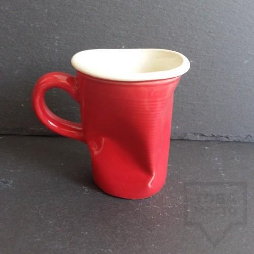 Ръчно изработена порцеланова чаша Korchev Design Studio - small red cup