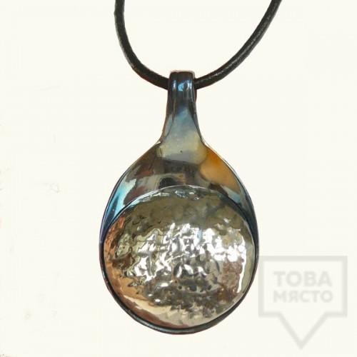 Ръчно изработен медальон Krasi&Iv - сълза
