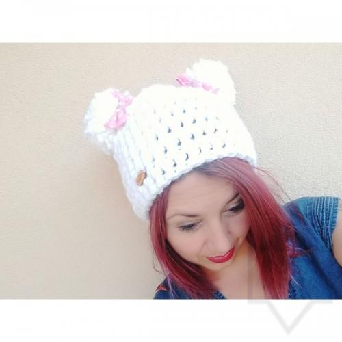 Дизайнерска шапка Lollipop - panda